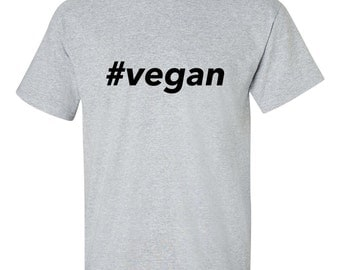 Grey vegan t-shirt