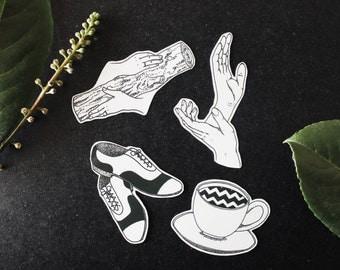 twin peaks - sticker pack