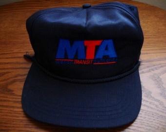 Vintage Macon Transit Authority Strapback Hat