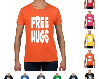 Free Hugs Women's Funny T-shirt