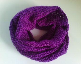 Scarf circular knitted