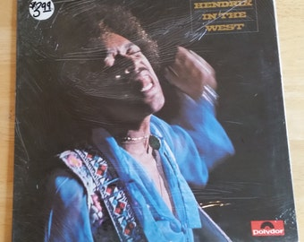 Jimi Hendrix - Hendrix In The West - 2302 018 - Polydor UK Issue - 1972 - STILL SEALED!