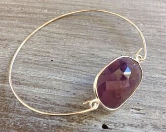 Bracelet Sapphire pink