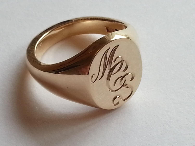 Monograms For Signet Rings
