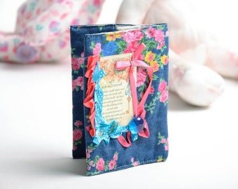Fabric passport cover