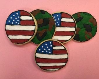Wounded Warrior Fundraiser cookies