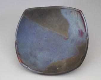 Raku bowl #7