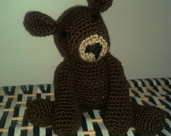 Crochet Amiguri Bear Stuffed Animal Plush Teddy Bear, Crochet Animal, Bear Plush, Stuffed Bear, amigurumi Bear, Toy, Decor