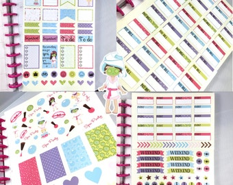 Planner Stickers Collection Pack for Mambi Happy Planner