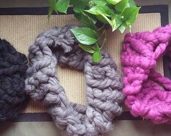 Small crochet scarf