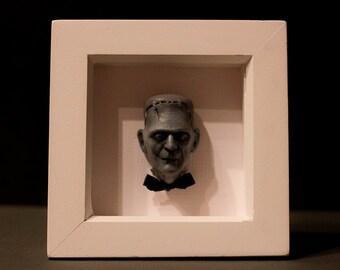 Boris Karloff: Frankenstein Magnet/Framed Art