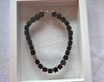 noble lava cube necklace