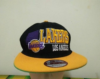 Rare Vintage LOS ANGELES LAKERS | mlb Cap Hat Free size fit all