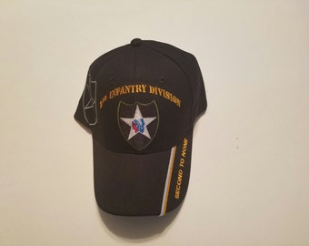 2nd Infantry Division Cap, Military Accessories, Army Caps, Army Accessories