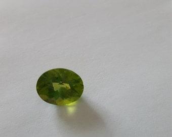 Oval Green Peridot