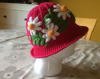 SunHats with  flowers