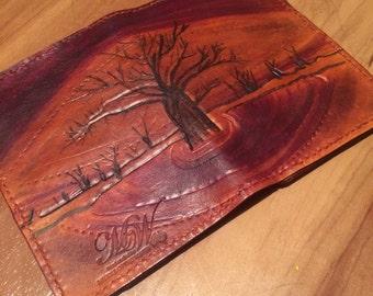 Kimberley inspired passport wallet