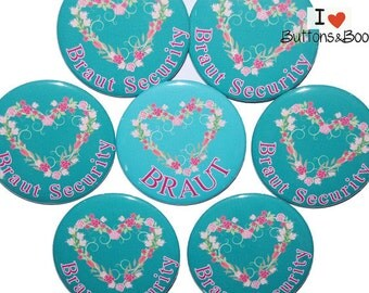 10 x large JGA buttons 50mm heart vintage flowers