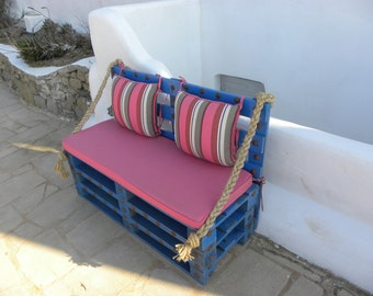 pallet sofa myconian style