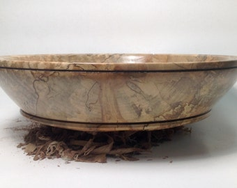 Spalted Maple Bowl #9