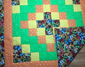 Butterfly baby quilt/lap quilt