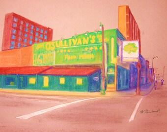 At Beale Street, Memphis, TN