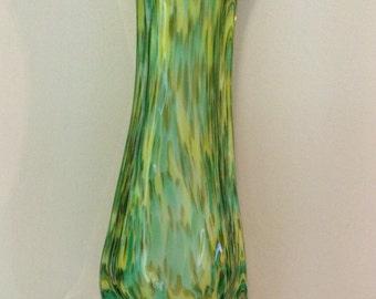 Colourful Murano Blown Art Glass Vase