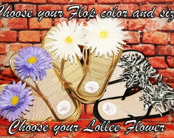 Lollee Flops, Flip Flops, Cute & Sassy!