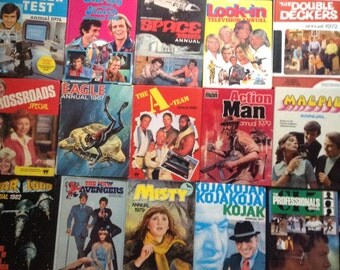 Vintage Annual Collection 1960's, 70's and 80's