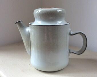 Large Vintage Retro 1970s DENBY Ware WESTBURY Domed Top TEAPOT Coffee Pot