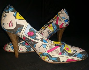 Custom Made Comic Shoes | Wedding | Prom | Special Occasion | Just Something Different!