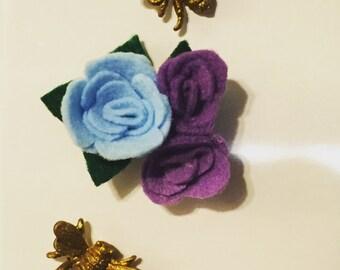 Flower bud magnets