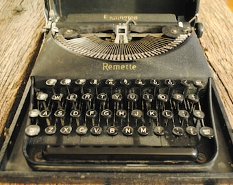 Remington Remette Portable Typewriter