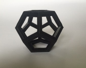 3D Printed Dodecahedron