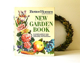 vintage Better Homes new garden book vintage gardening
