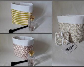 Japanese patterns basket