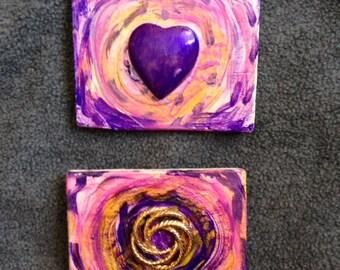Handmade Magnets - Set of 2