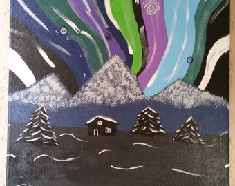 Whimsical Northern Lights