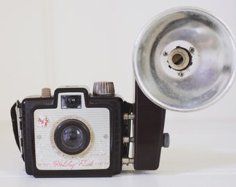 Vintage Kodak Brownie Holiday Flash | Old Camera | Antique | Collectible | Home Decor | Photography | Film