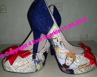 Vintage Snow White Heels
