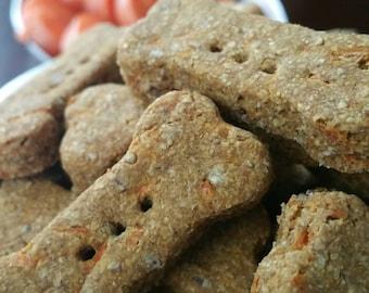 """Organic Dog Treats - """"Carrot Cake Carpals"""" - 3.5"""""""