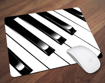 Piano Keys Mouse Pad, Piano Mouse Pad, Music Mouse Pad, Office Gift, Co-Worker Gift, Boss Gift, Student Gift