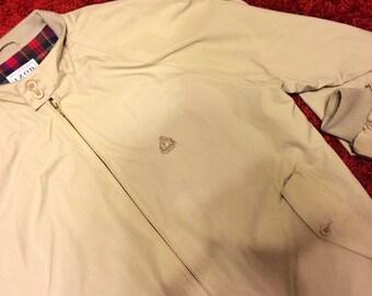 Vintage beige IZOD jacket L