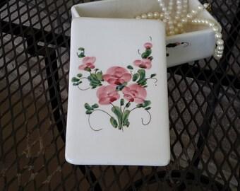 Italian Hand-painted Ceramic Box