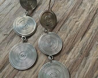 Sterling Silver dangly earrings