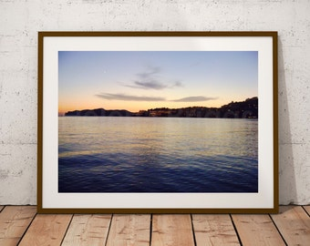 Sunset | Sunset Wall Art, Sunset Photography, Sunset Print, Beach Sunset, Mallorca, Majorca, Night Sky Print, Night Sky Art, Island Life