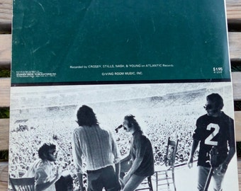 TEACH YOUR CHILDREN ~ Crosby, Stills, Nash & Young 1970 Sheet Music ~ Folk Rock
