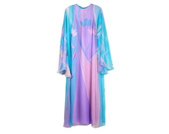 Vintage 70s Dres - Size M Dress - Vintage Maxi Dress - Vintage Summer Dress  - Noel Sophisticates Dress - Womens Vintage