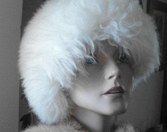 1960's Lambswool Apres Ski  Hat