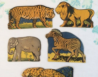 Vintage Animal Cut-Outs